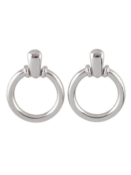 Milanoo Gold Hoop Earrings Women Metal Dangle Earrings