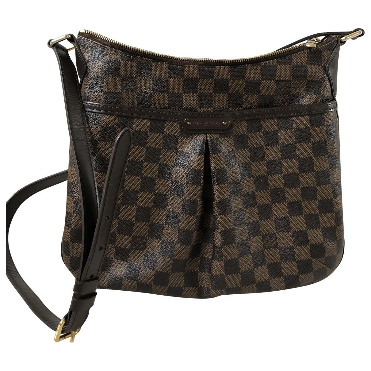 Louis Vuitton - Sac a main Bloomsbury pour femme en toile - marron