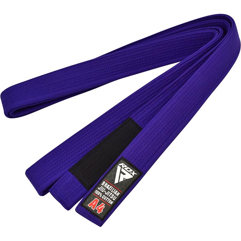 RDX 1U Cinturon de BJJ Jiu Jitsu Algodon Marron A3