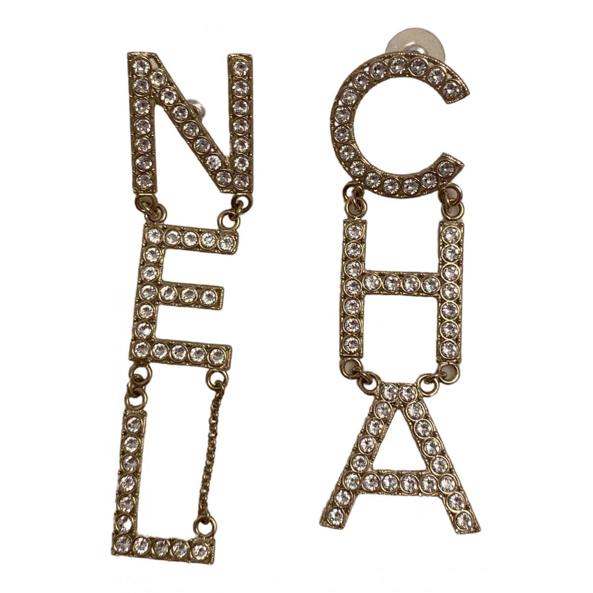 Chanel - Boucles doreilles CHANEL pour femme en metal