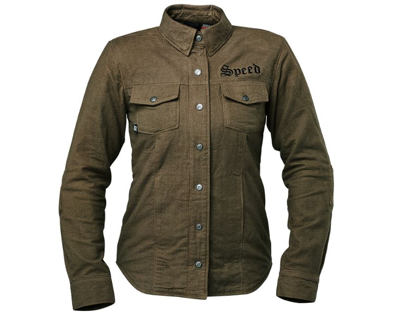 Speed and Strength 885310 Brat Armored Flannel Olive WSM