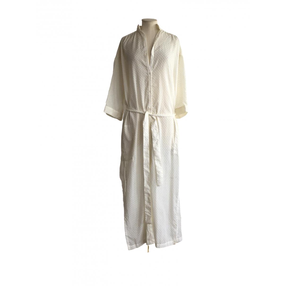 Lisa Marie Fernandez - Robe   pour femme en coton - blanc