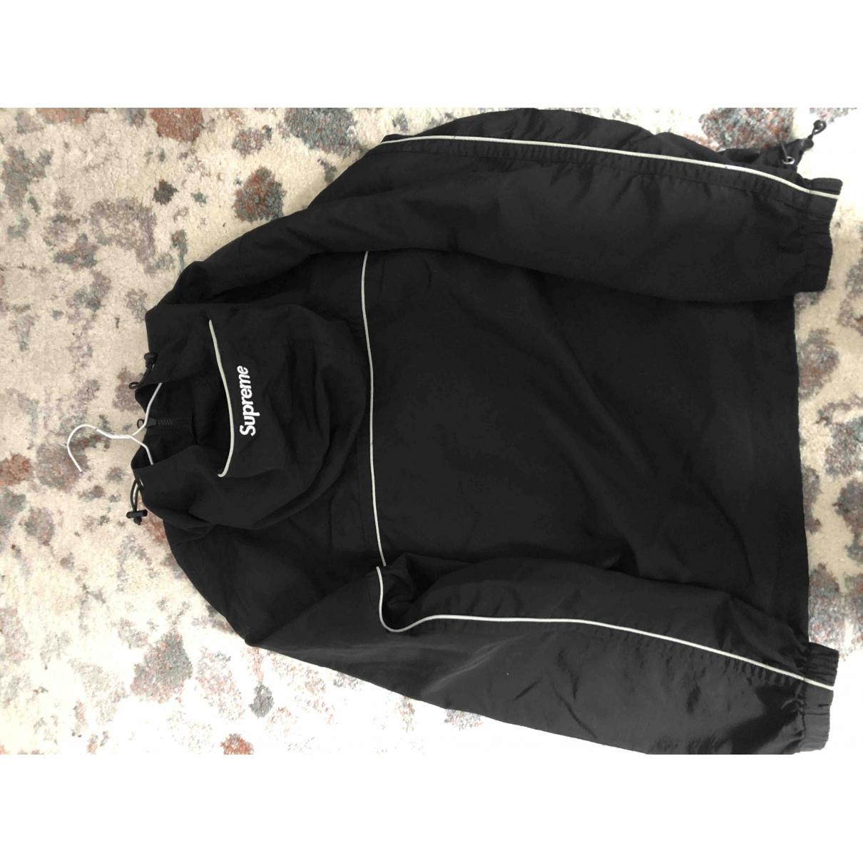 Supreme \N Black jacket  for Men S International