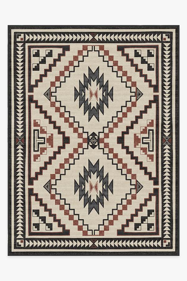 Washable Rug Cover & Pad | Dakotah Sumac Rug | Stain-Resistant | Ruggable | 9'x12'