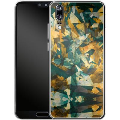Huawei P20 Silikon Handyhuelle - Raw Texture von Danny Ivan