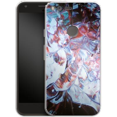 Google Pixel Silikon Handyhuelle - Macro 3 von Gela Behrmann