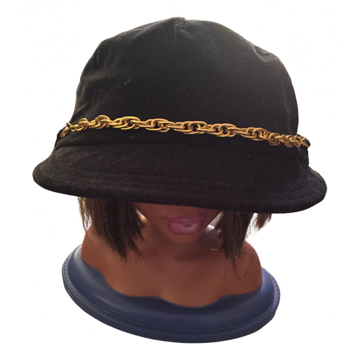 Adidas - Chapeau   pour femme en coton - noir