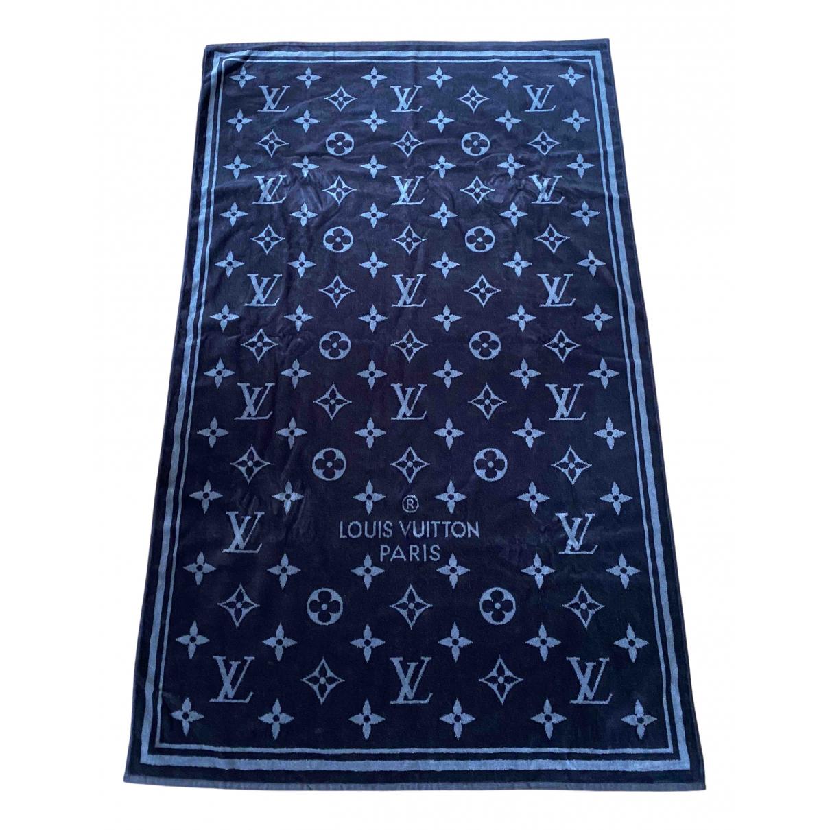 Louis Vuitton - Linge de maison   pour lifestyle en coton - noir