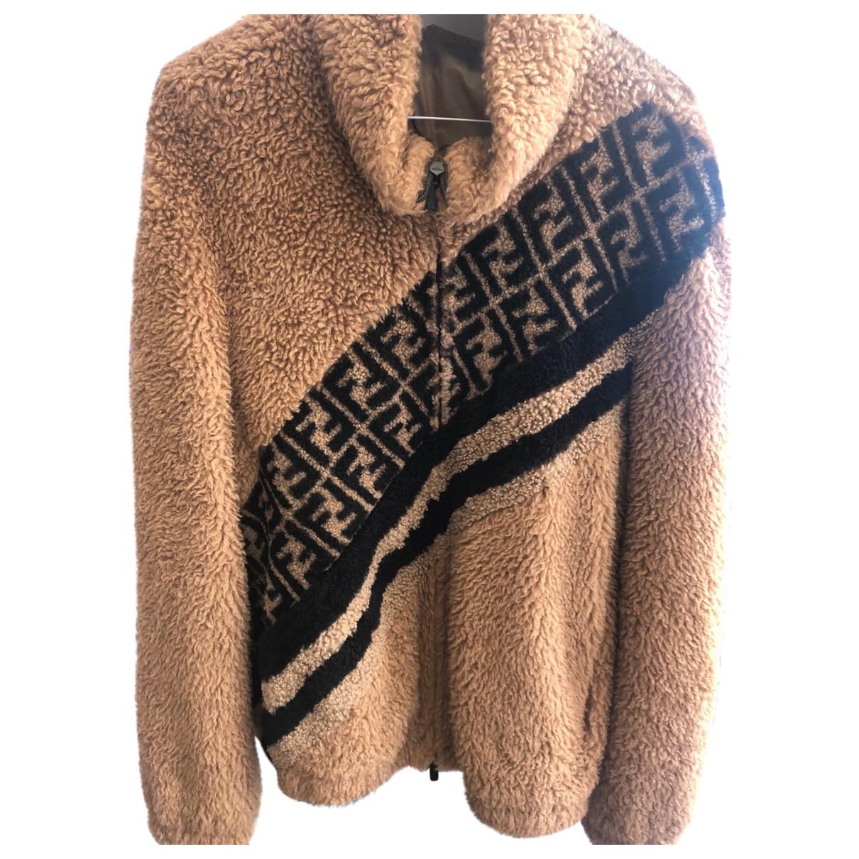 Fendi - Vestes.Blousons   pour homme en laine - marron