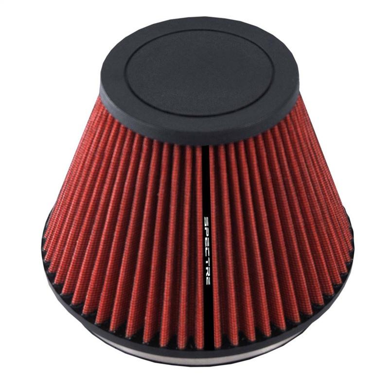 Spectre HPR9606 HPR Conical Air Filter 6in. Flange ID / 7.219in. Base OD / 3.906in. Top OD / 5.719in. H