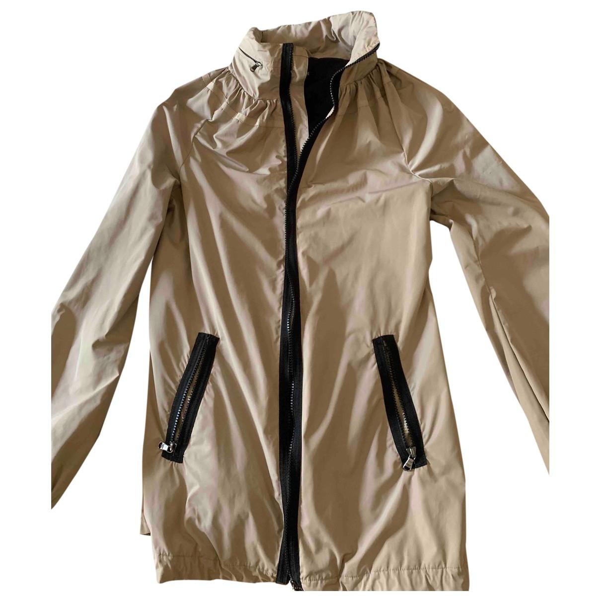 Patrizia Pepe \N Beige Trench coat for Women 40 IT