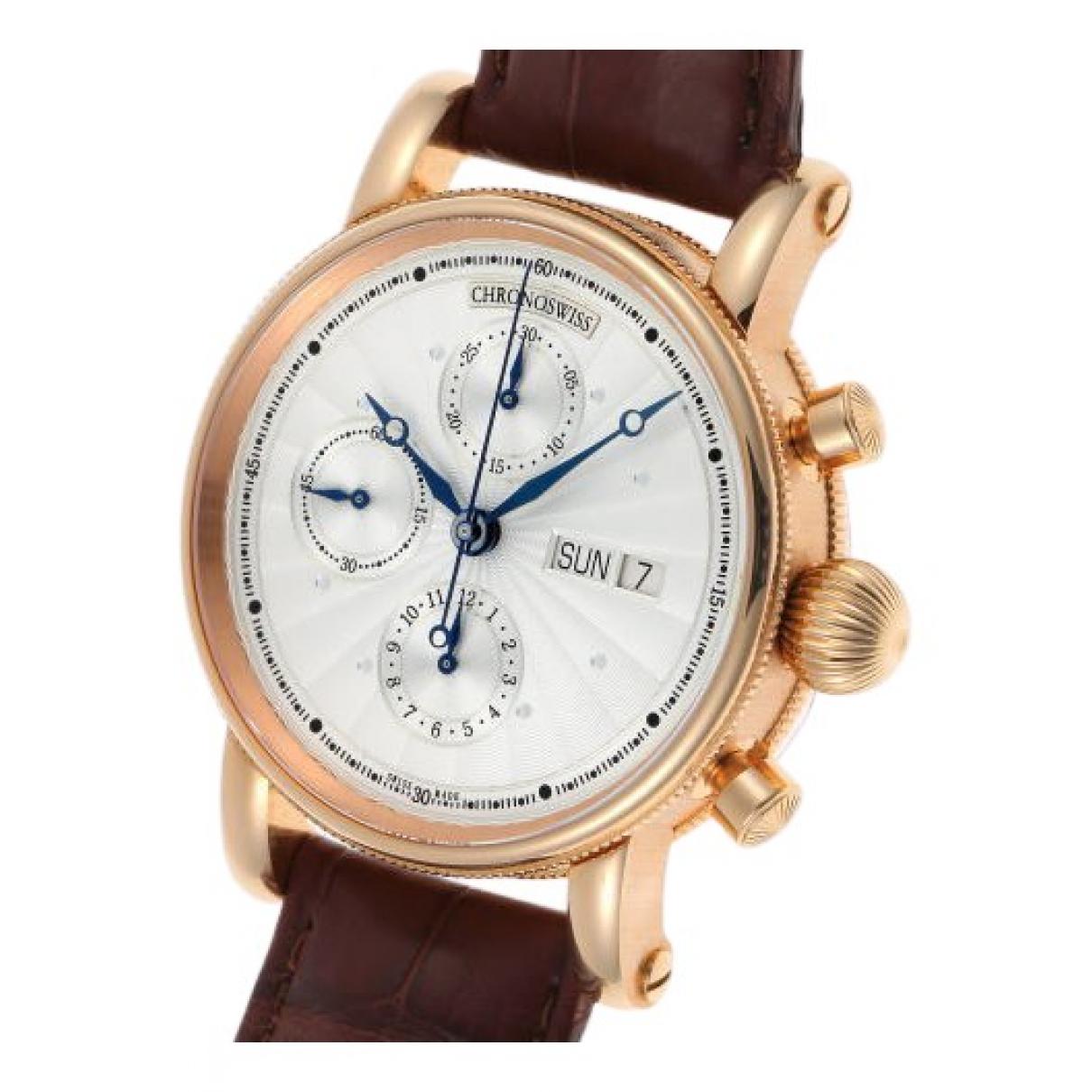 Reloj de Oro rosa Chronoswiss