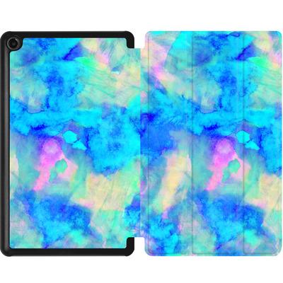 Amazon Fire 7 (2017) Tablet Smart Case - Electrify Ice Blue von Amy Sia