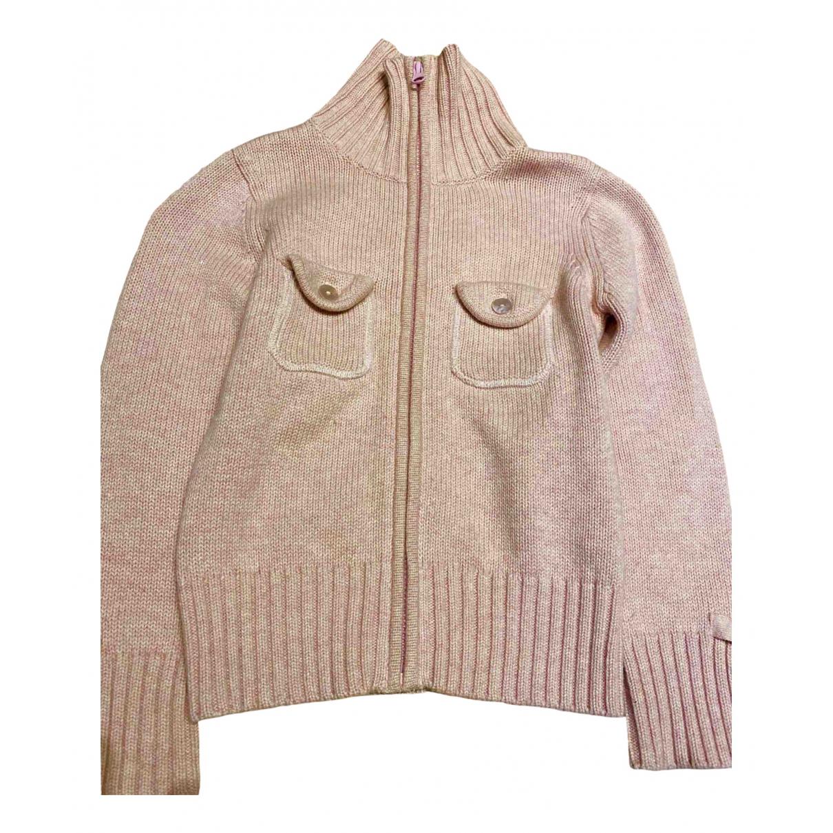 Cyrillus - Pull   pour enfant en laine - rose
