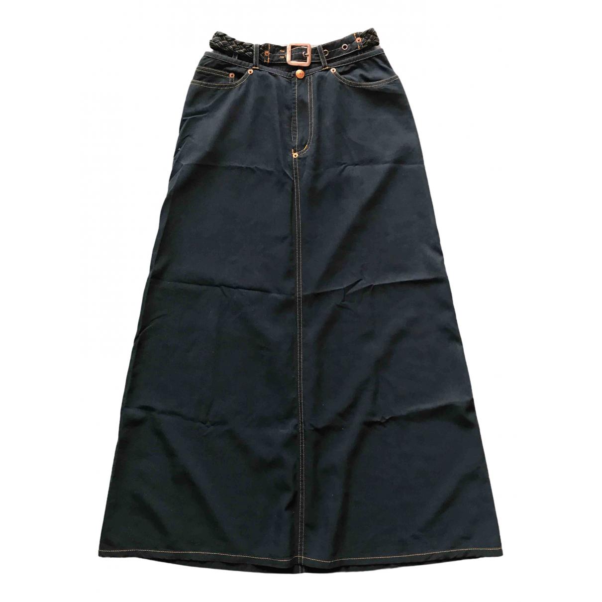 Jean Paul Gaultier \N Navy skirt for Women 36 FR