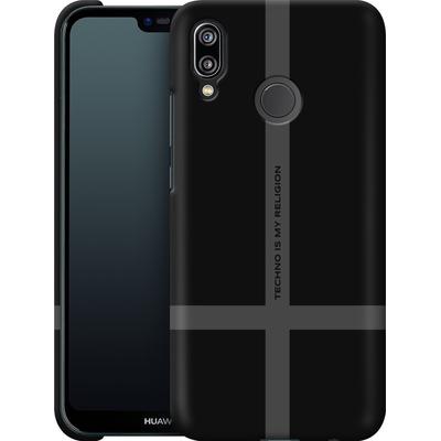 Huawei P20 Lite Smartphone Huelle - TECHNO IS MY RELIGION  von Berlin Techno Collective