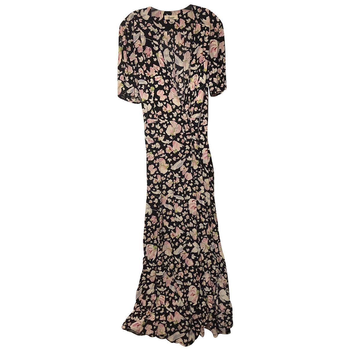 Somerset \N Kleid in  Schwarz Baumwolle - Elasthan