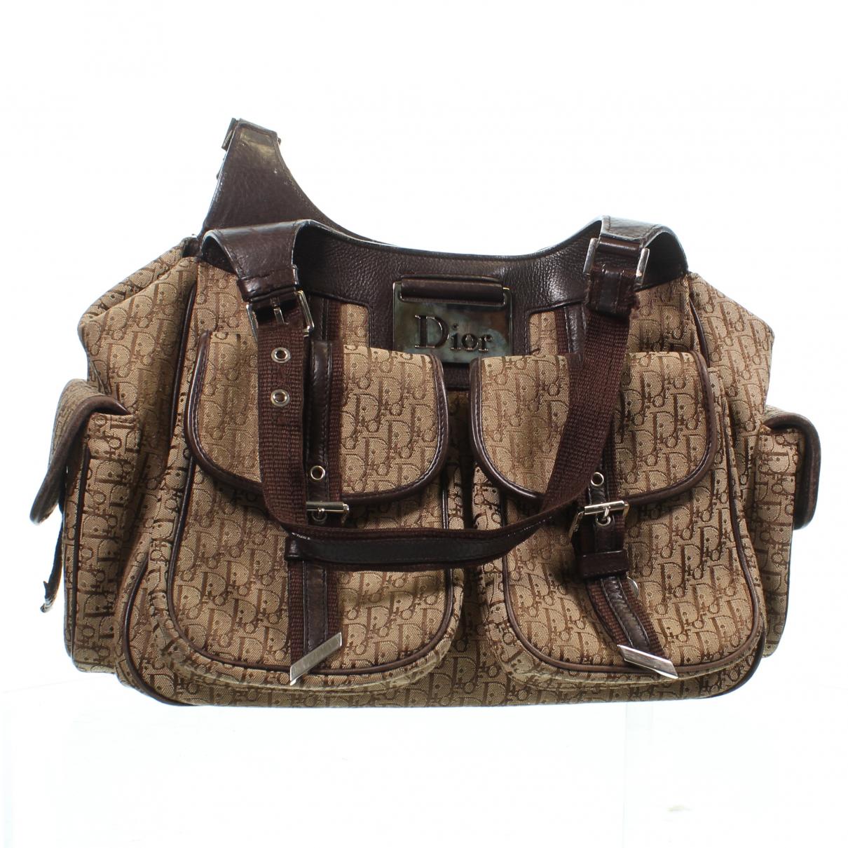 Dior Diorissimo Brown Leather handbag for Women N