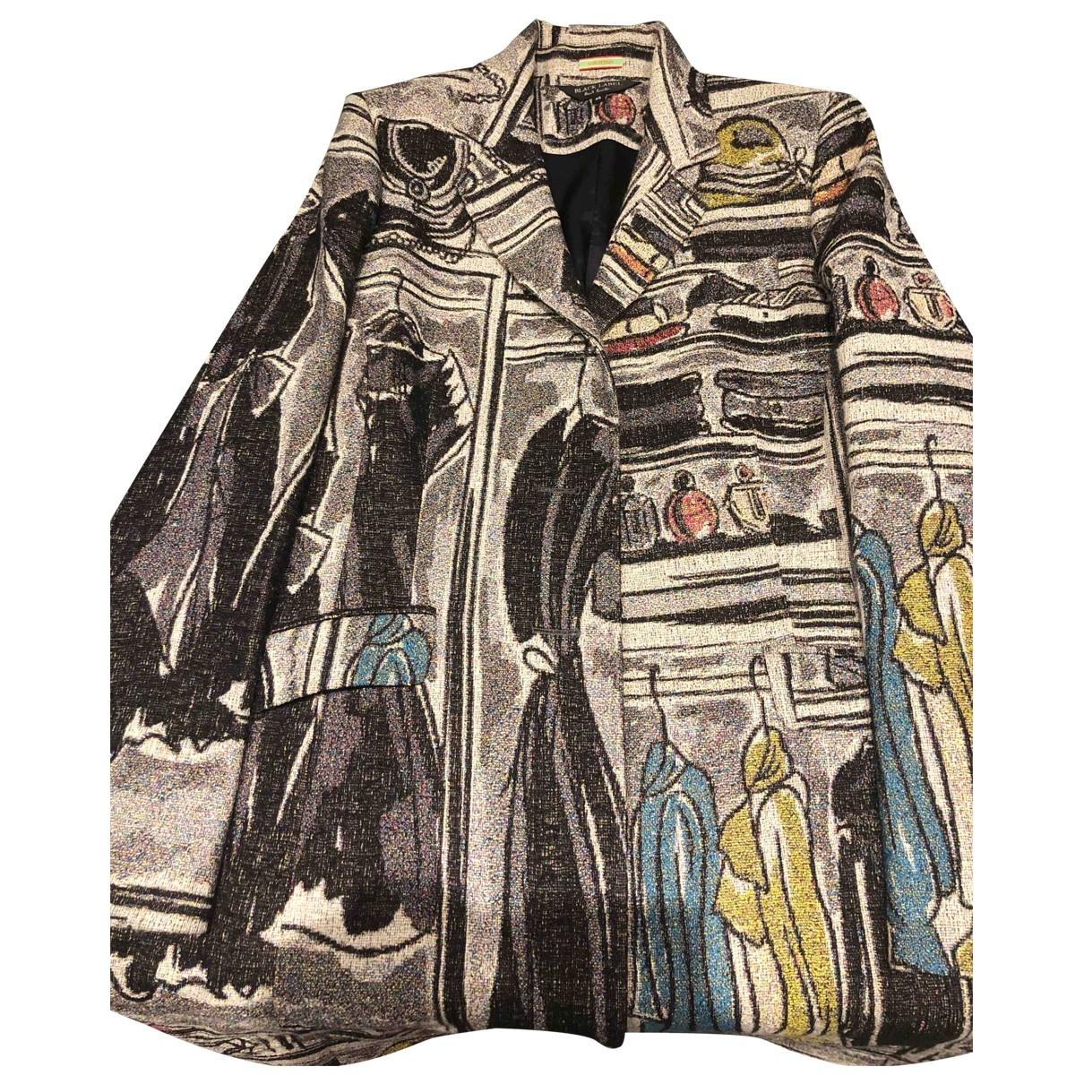 Paul Smith \N Grey Wool coat for Women 48 FR