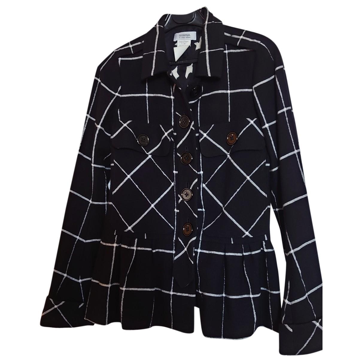 Sonia By Sonia Rykiel \N Black Wool jacket for Women 38 FR