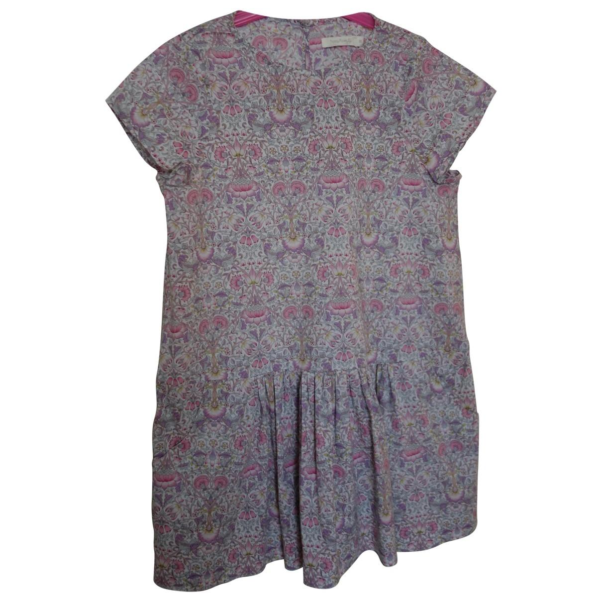Poppy Rose - Robe    pour enfant en coton - rose