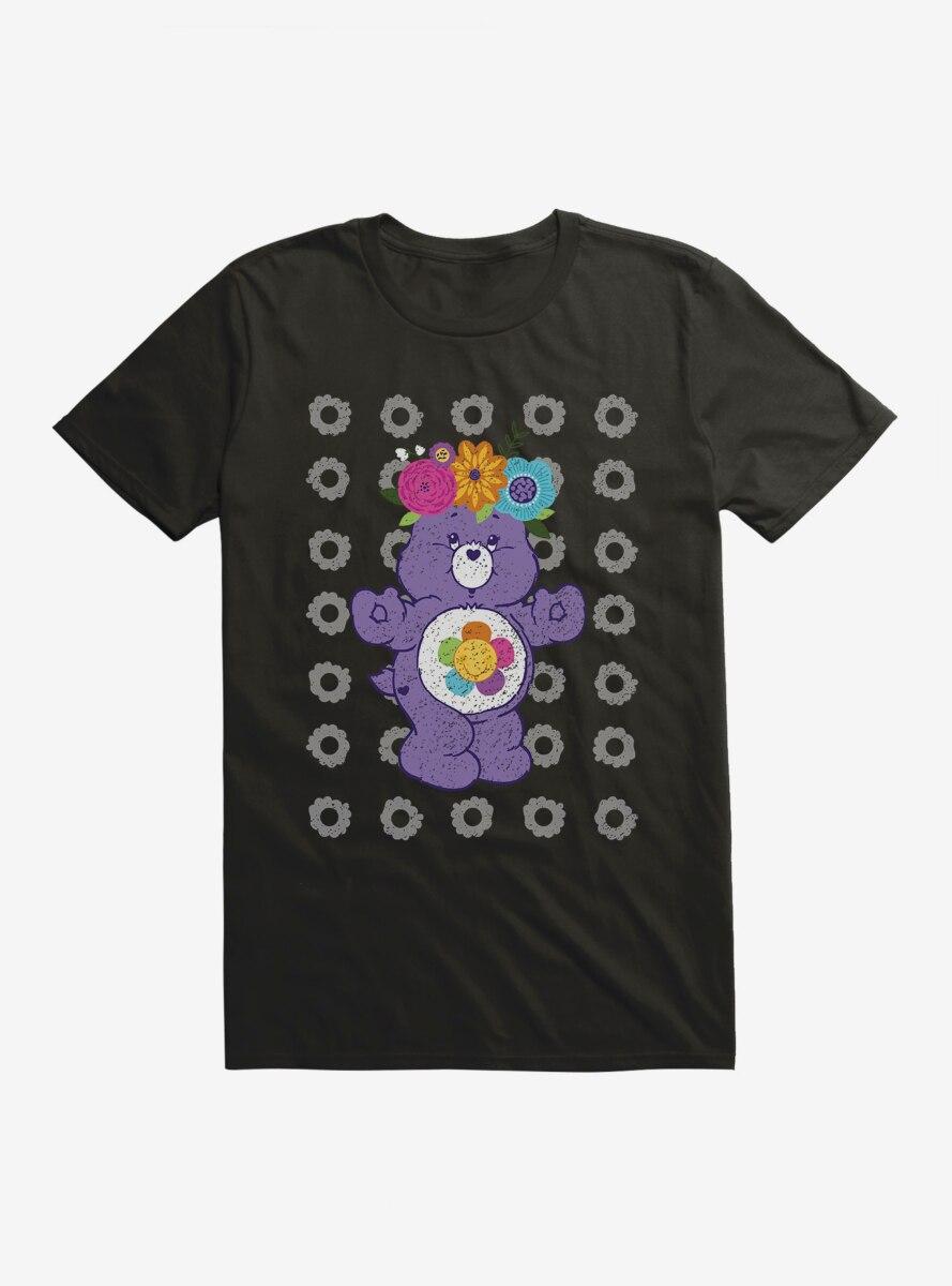 Care Bears Harmony Bear Floral T-Shirt
