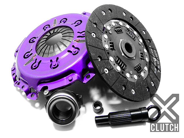 XClutch XKFD23022-1A Clutch Kit Stage 1 Single Solid Organic Clutch Disc Ford Escort 1998-2002 2.0L 4-Cylinder