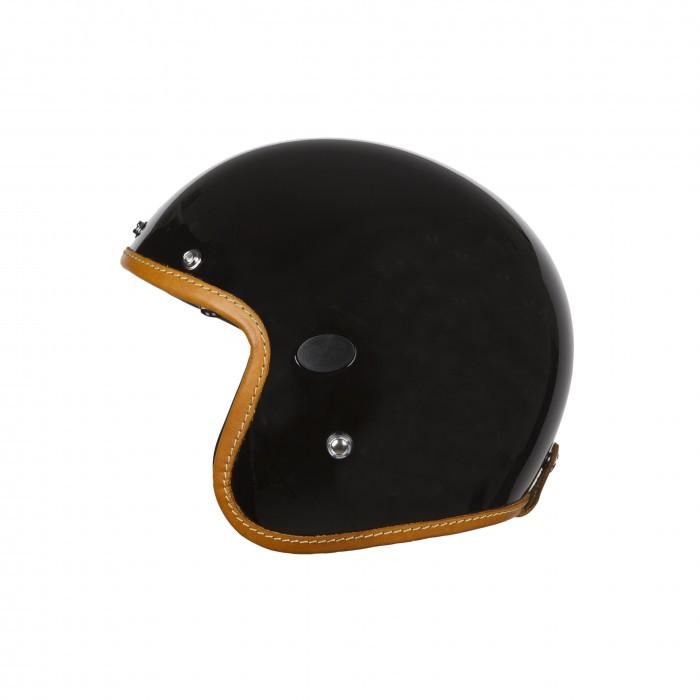 Helstons Naked Carbon Fiber Black Jet Helmet L