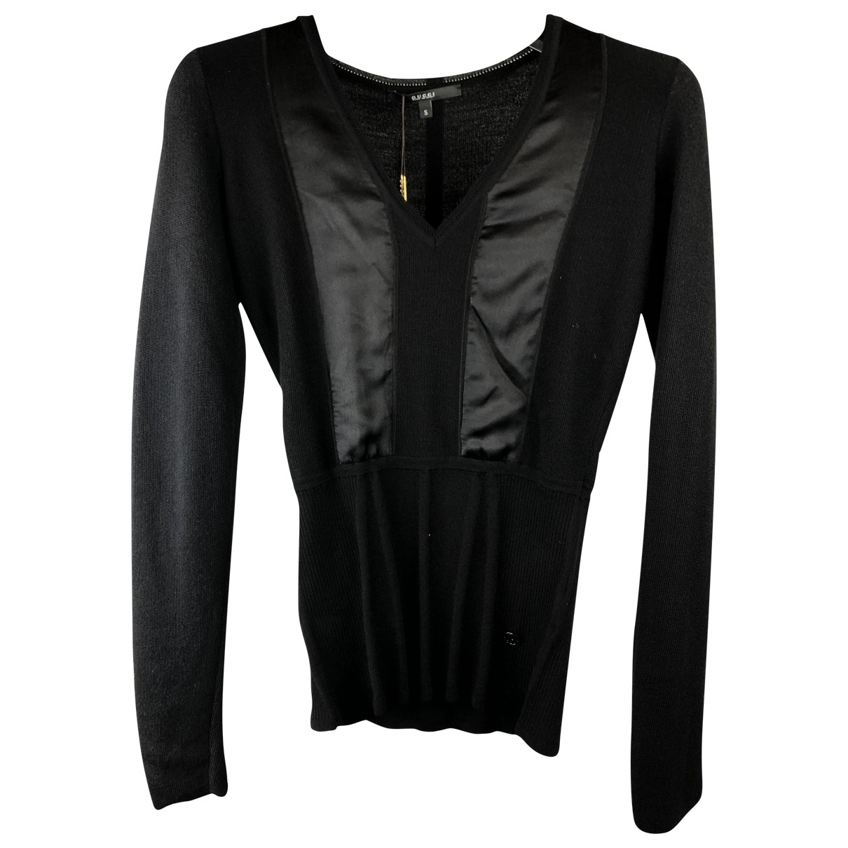 Gucci \N Black Cashmere Knitwear for Women 38 IT