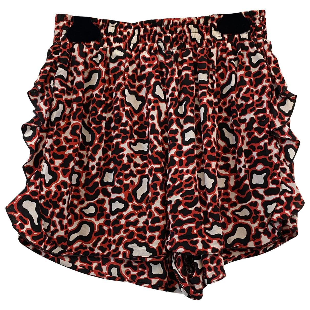 Stella Mccartney \N Shorts in  Rot Seide