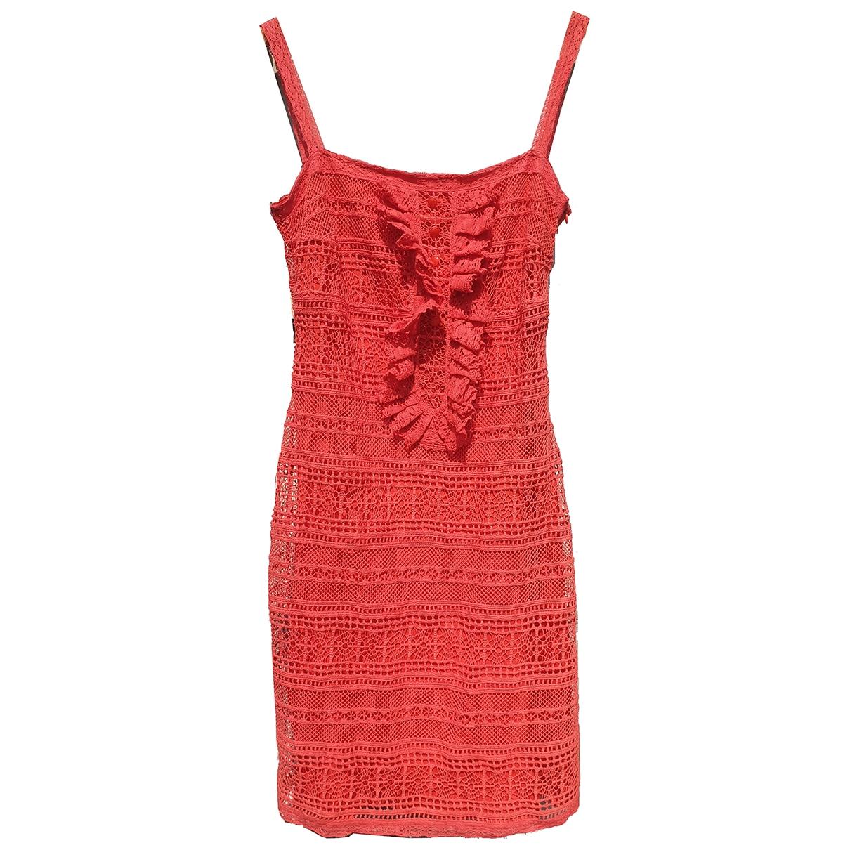 Collette Dinnigan \N Kleid in  Rot Seide