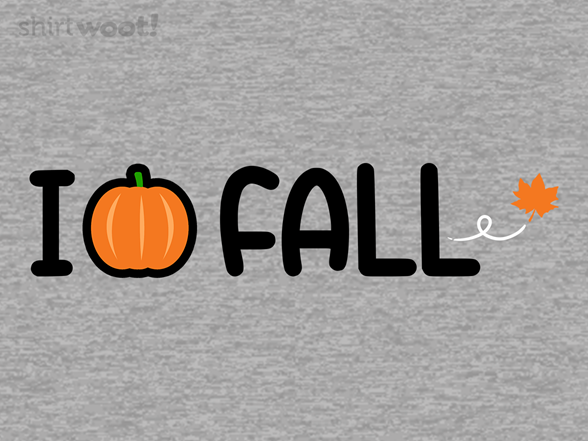 I Love Fall T Shirt