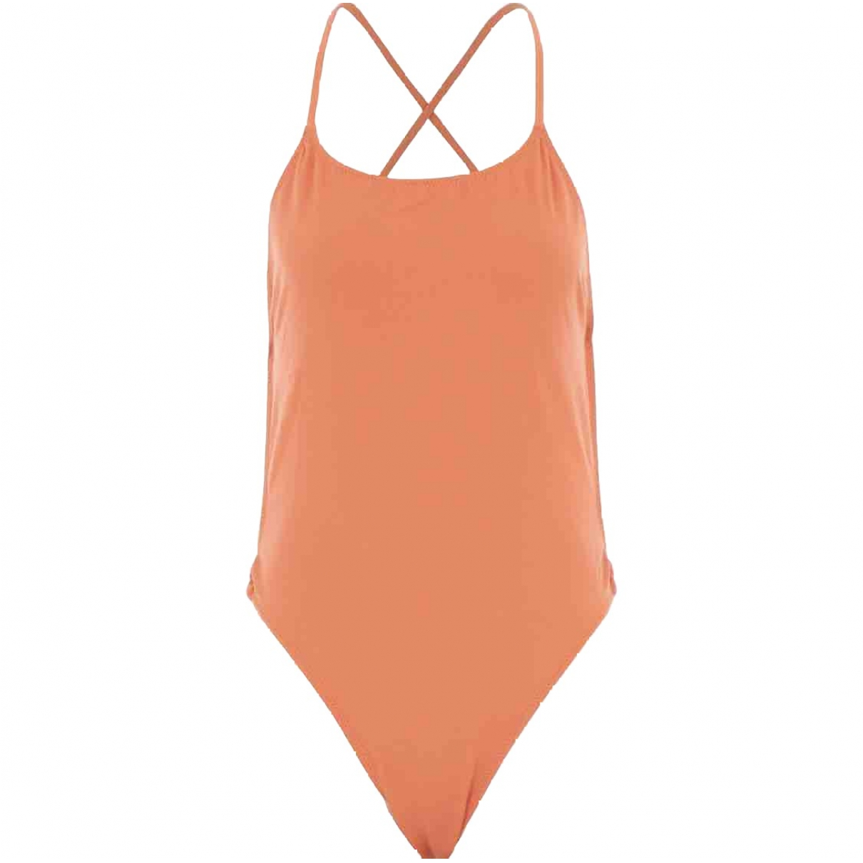 Solid & Striped \N Badeanzug in  Orange Polyester