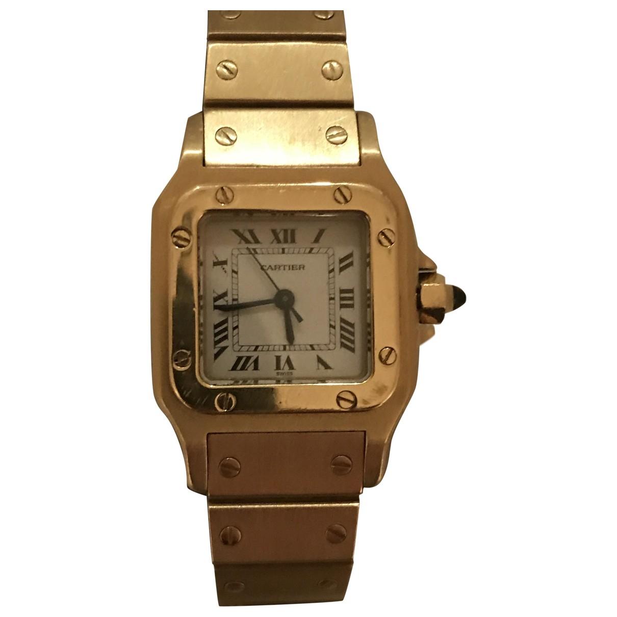 Reloj Santos Galbee de Oro amarillo Cartier