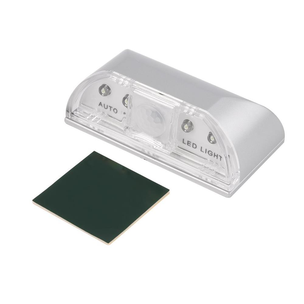 4LED IR Sensor Light Auto PIR Infrared Wireless Keyhole