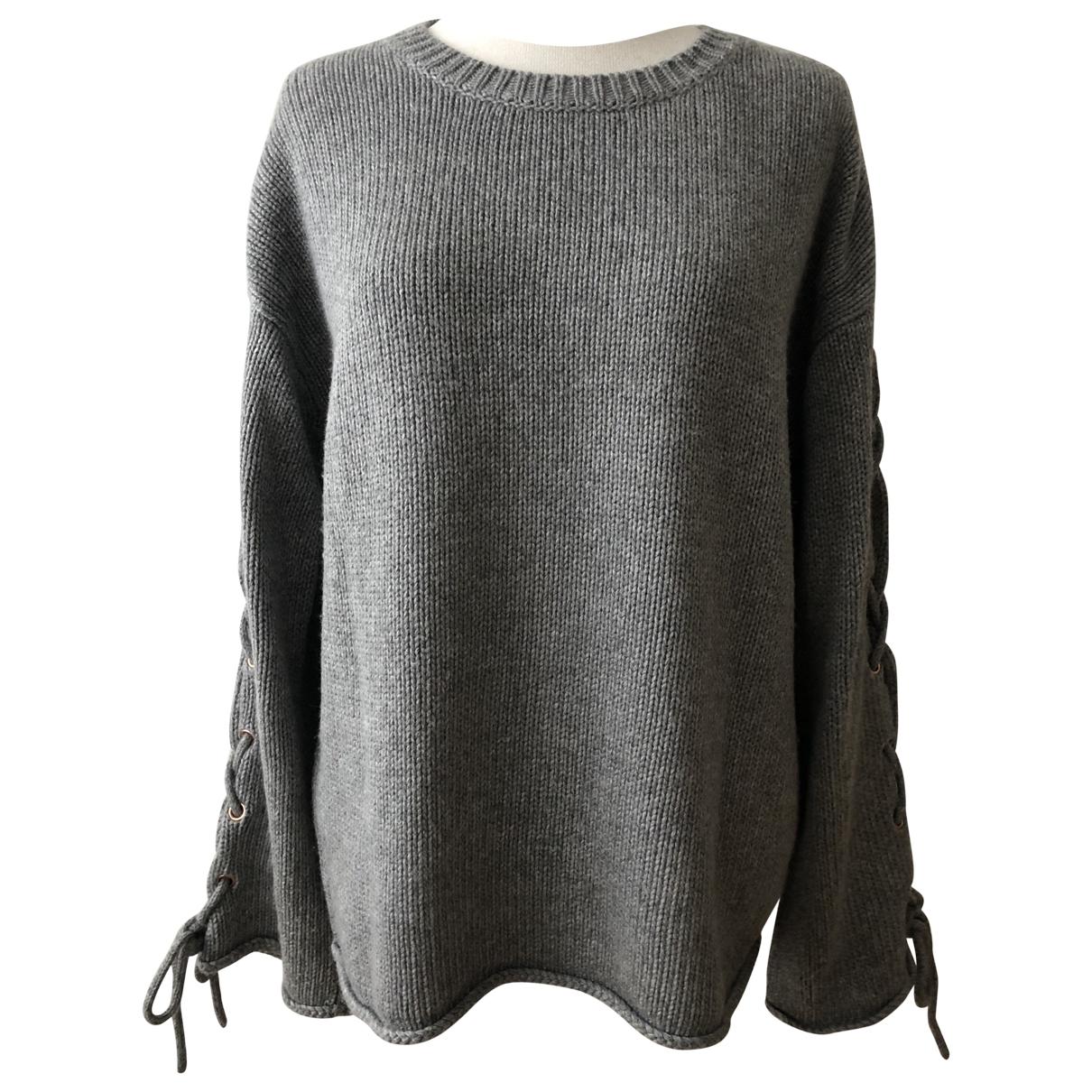 See By Chloe - Pull   pour femme en laine - gris