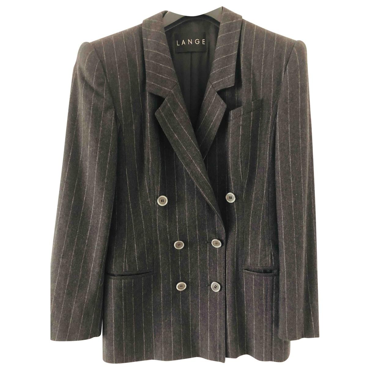 Rena Lange \N Anthracite Wool jacket for Women 10 UK
