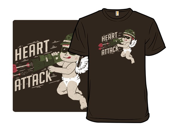 Combat Cupid T Shirt