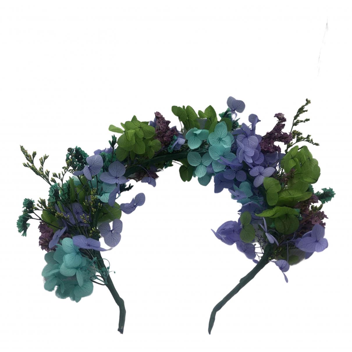Non Signe / Unsigned Motifs Floraux Haarschmuck in  Bunt Metall