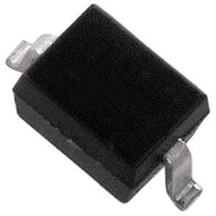DiodesZetex Diodes Inc, 15V Zener Diode 5% 200 mW SMT 2-Pin SOD-323 (100)