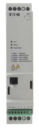 Eaton Variable Speed Starter, 3-Phase In, 60Hz Out 0.75 kW, 480 V ac, 2.1 A DE11