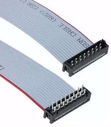 TE Connectivity Micro-Match Ribbon Cable Assembly, Micro-Match MOW Plug to Micro-Match PB Plug, 150.5mm