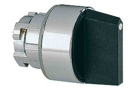 Lovato 8LM2T Selector Switch Head - 2 Position, Spring Return, 22mm cutout