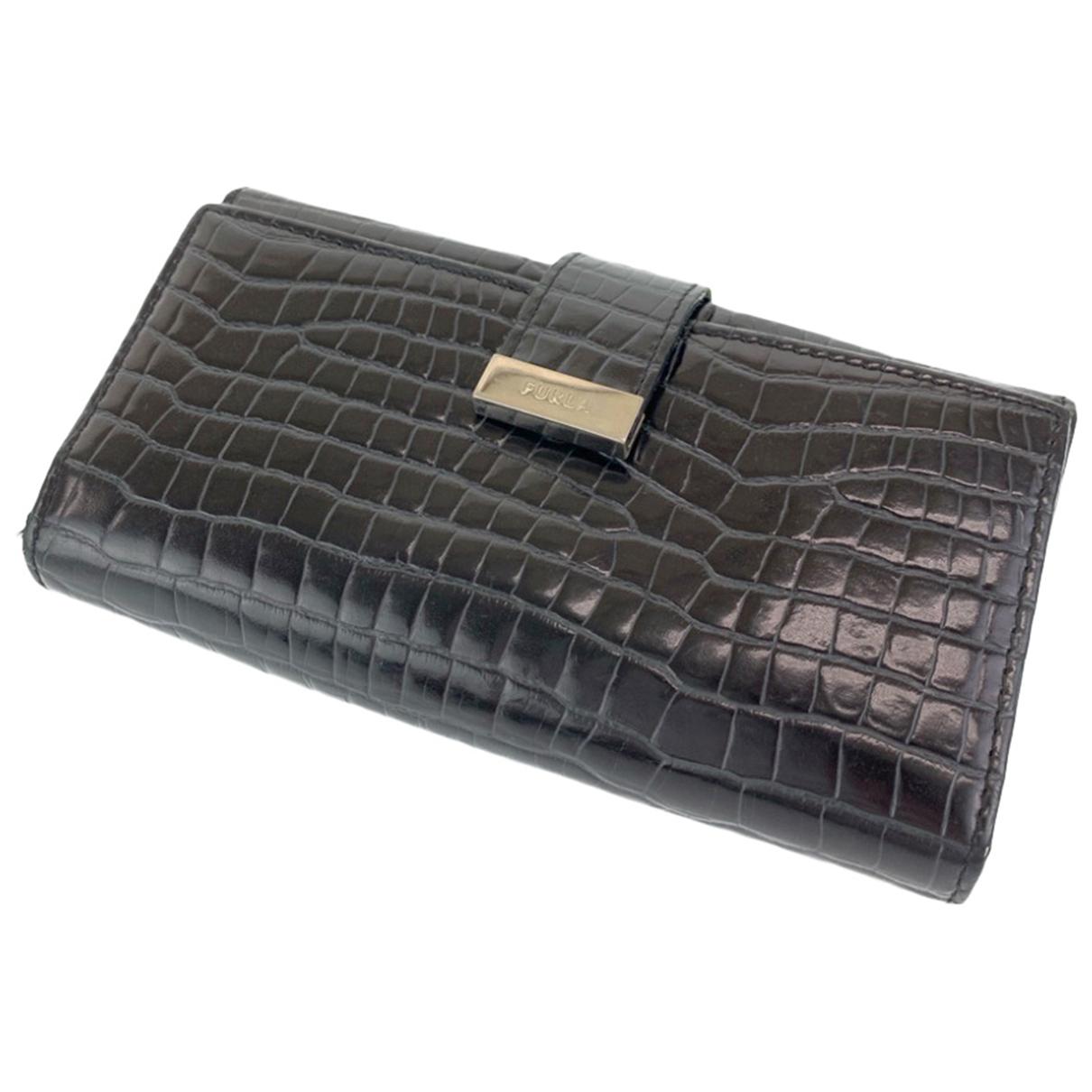 Furla N Leather wallet for Women N