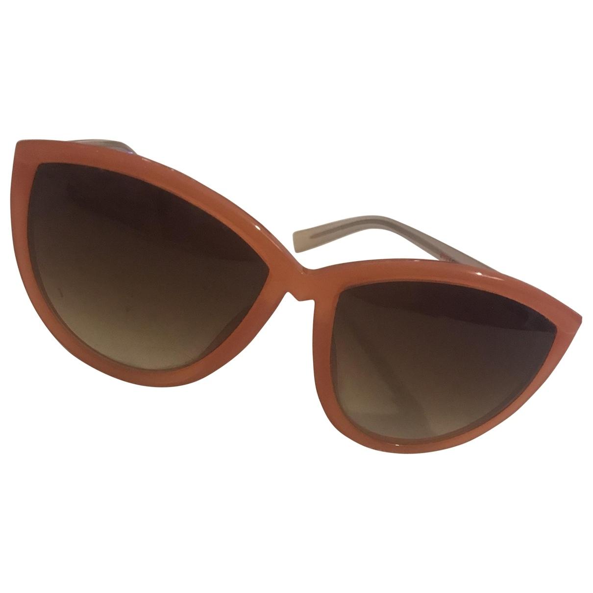 Gina \N Orange Sunglasses for Women \N