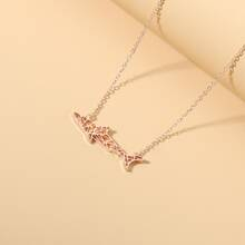 Stainless Steel Fish Charm Necklace