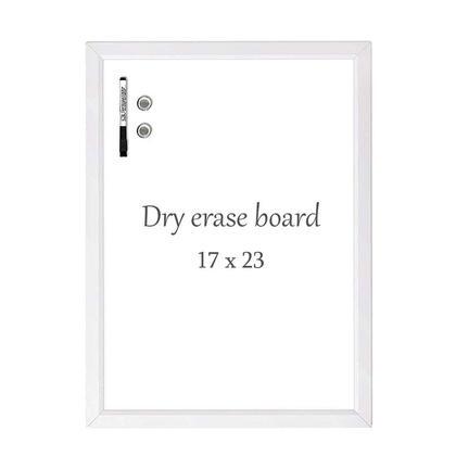 Quartet® Tableau blanc magnétique effaçable à sec, cadre blanc