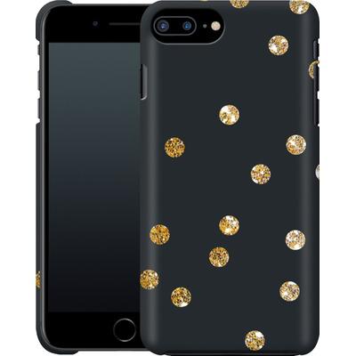 Apple iPhone 8 Plus Smartphone Huelle - Gold Dots von Khristian Howell