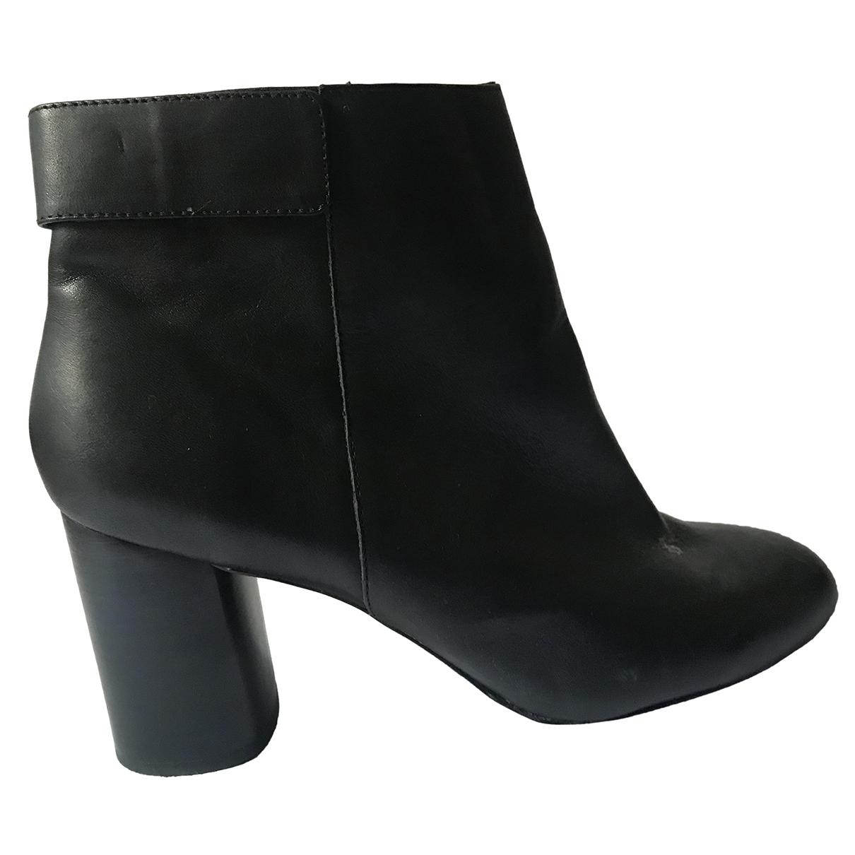 Botines de Cuero Zara