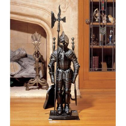 SP1035 The Black Knight Fireplace Tool Set In